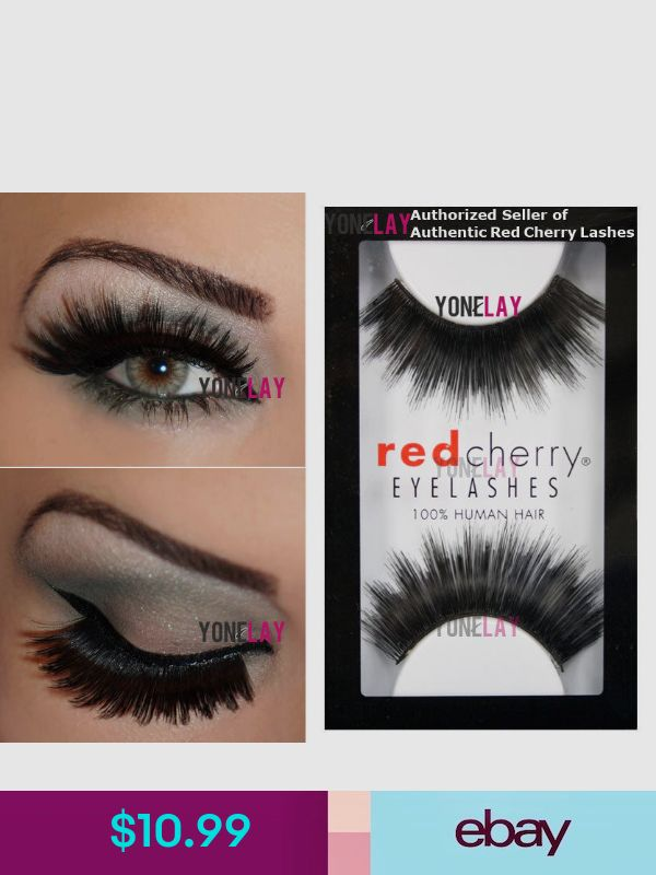 7d84555ce8f Red Cherry False Eyelashes #ebay #Health & Beauty