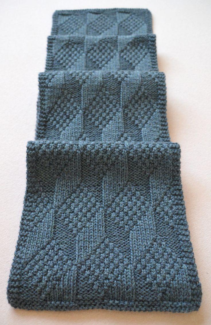 Free Knitting Pattern for Reversible Asherton Scarf - This